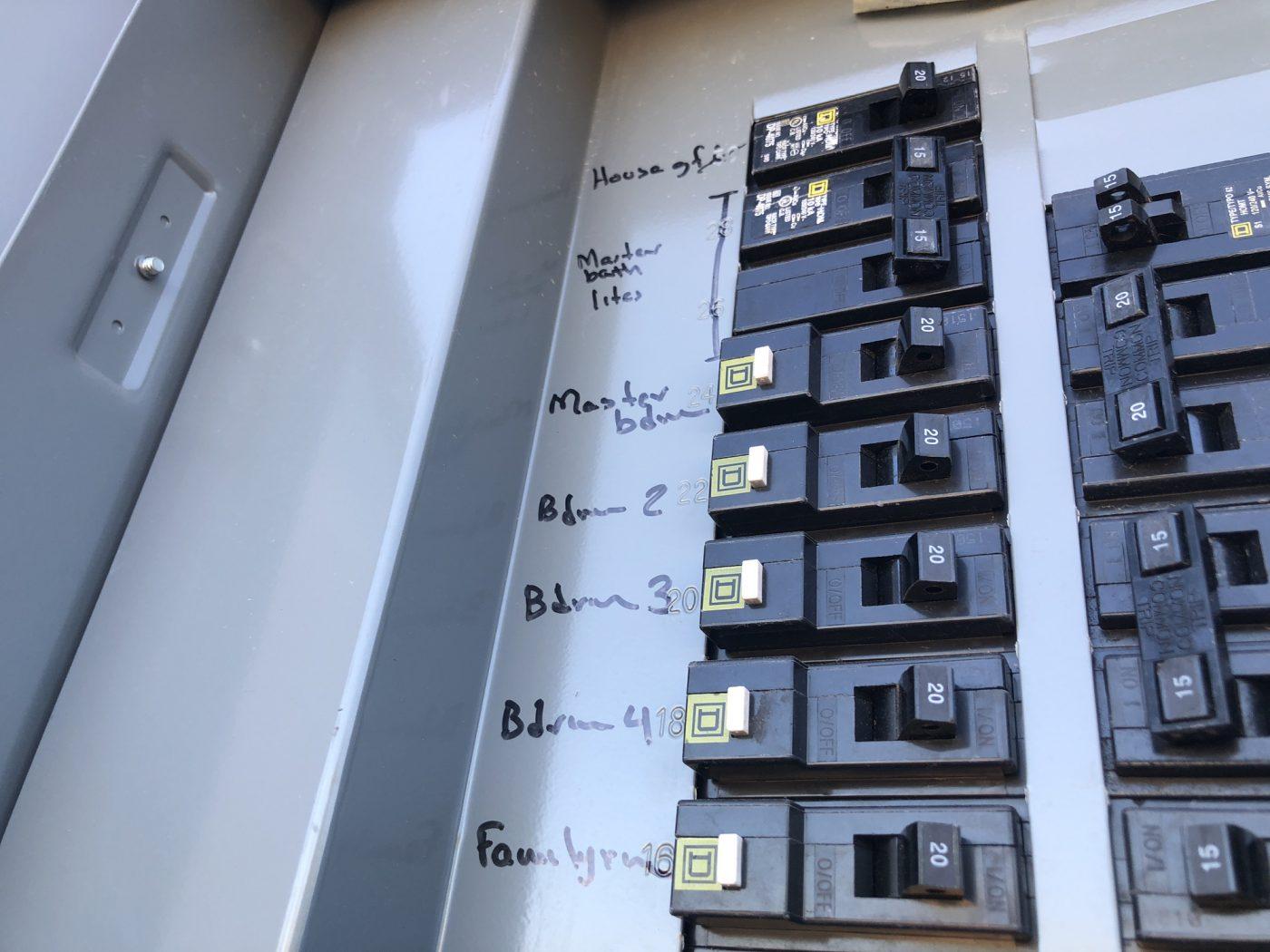 electrical panel repair in Katy TX